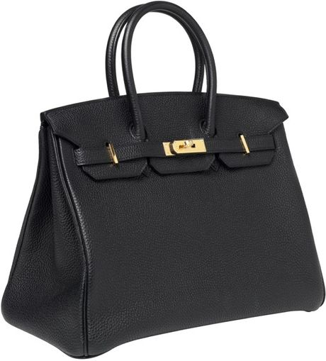 Hermes 35cm Birkin Black Togo With Ghw in Black - Lyst
