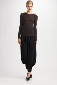 Yves Saint Laurent Jersey Harem Pants - Lyst