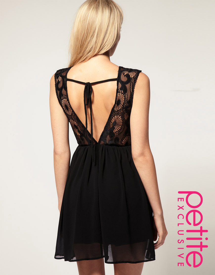 Lyst Asos Collection Asos Petite Exclusive Open Back