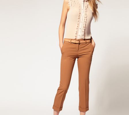 ASOS Collection Asos Tailored Slim Cropped Trouser