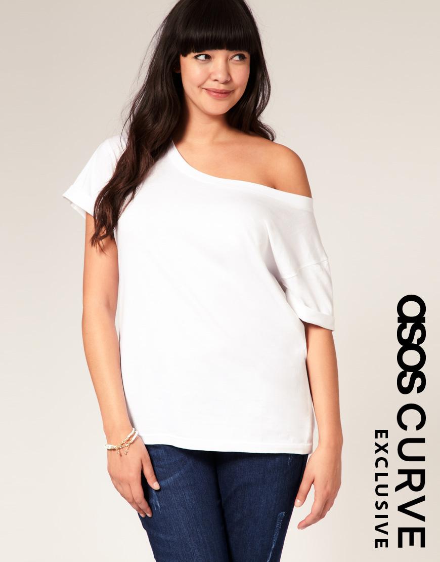 fce16cc9888ac Off The Shoulder T Shirt White