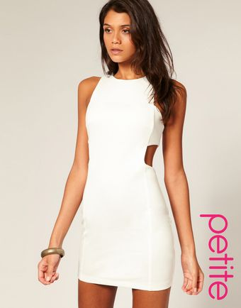 ASOS Collection Asos Petite Cut Out Shift Dress - Lyst