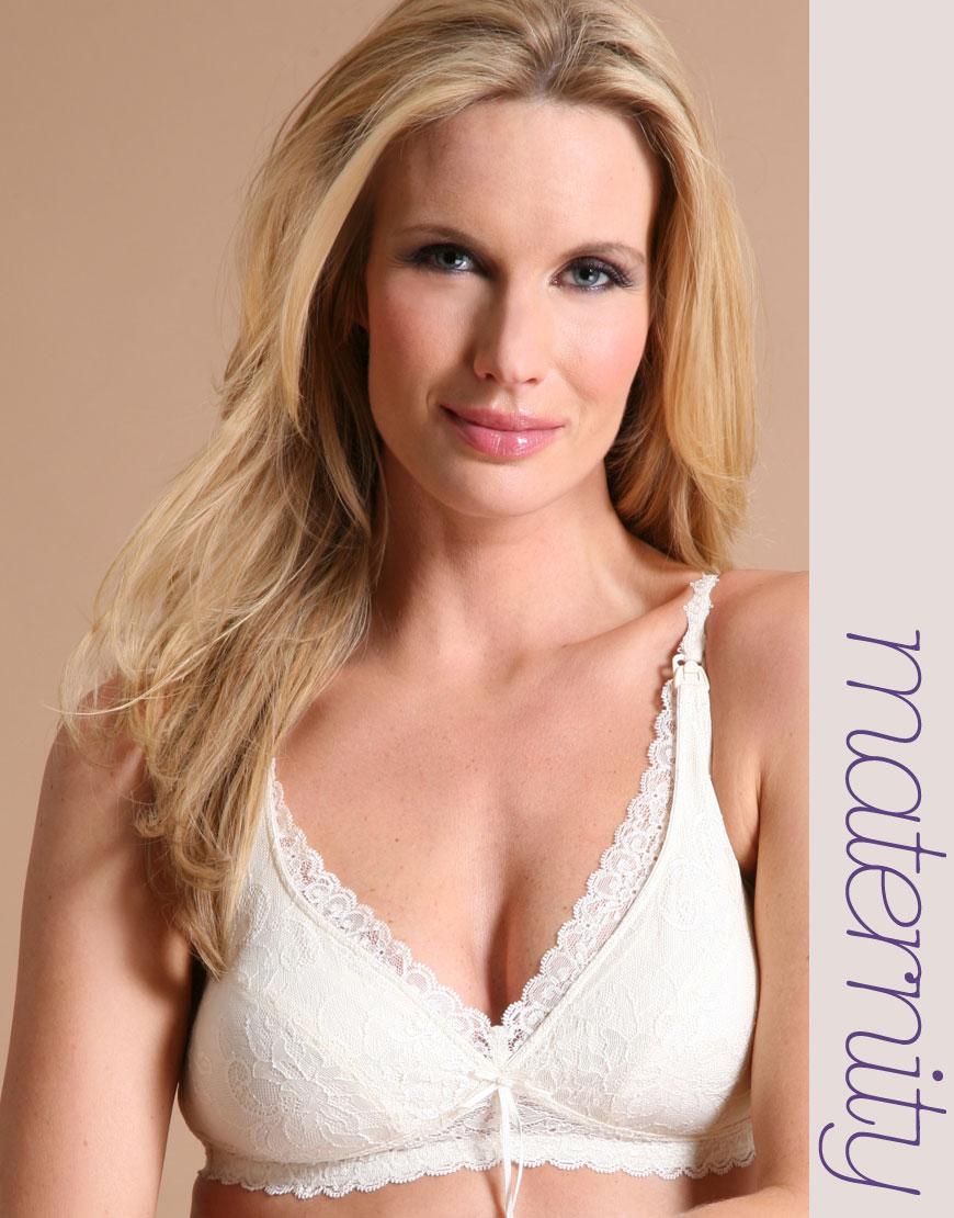 feab5aaf4e Lyst - Elle Macpherson Intimates Maternity La Mere Nursing Bra in White