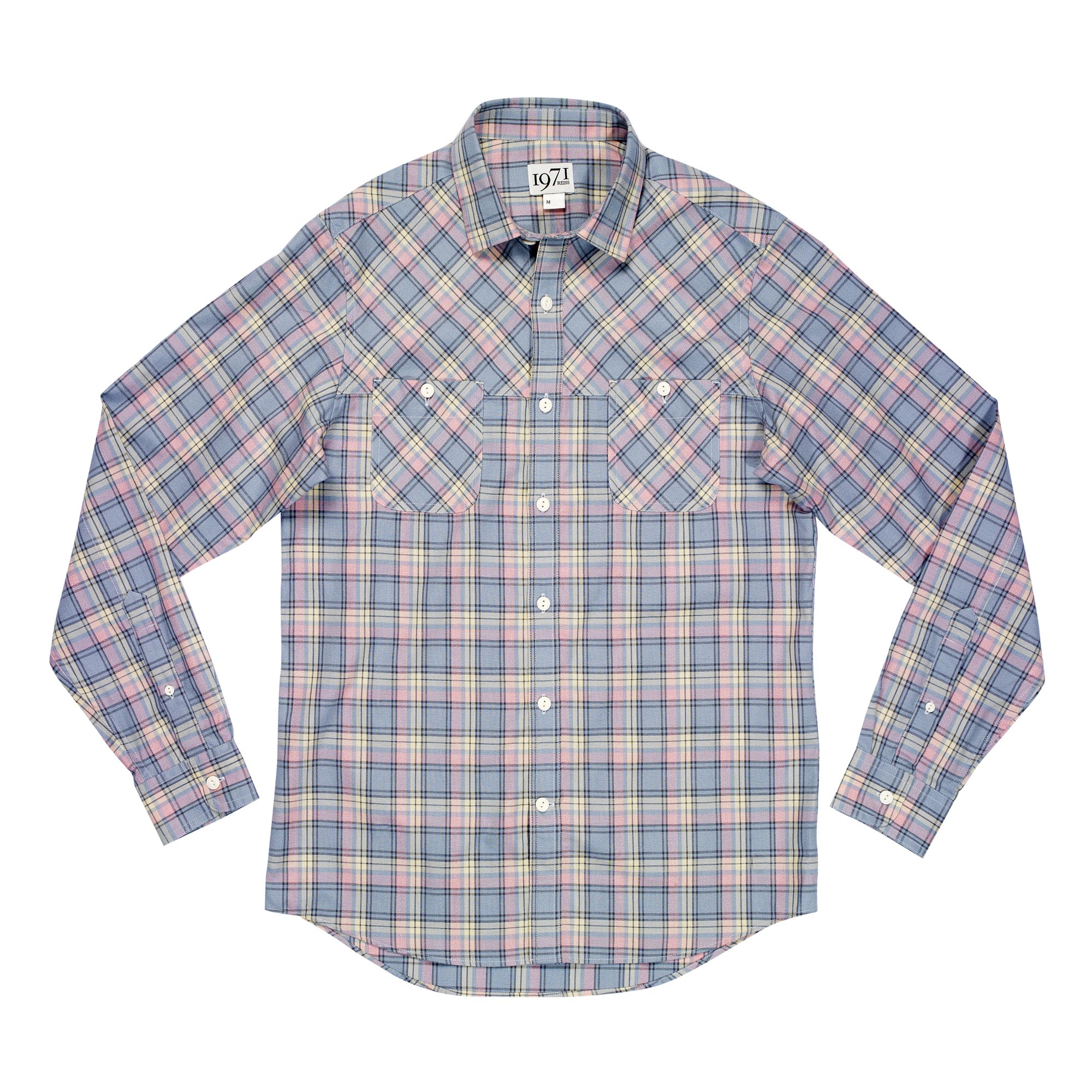 Reiss Check Shirt In Pink For Men Pink Check Lyst