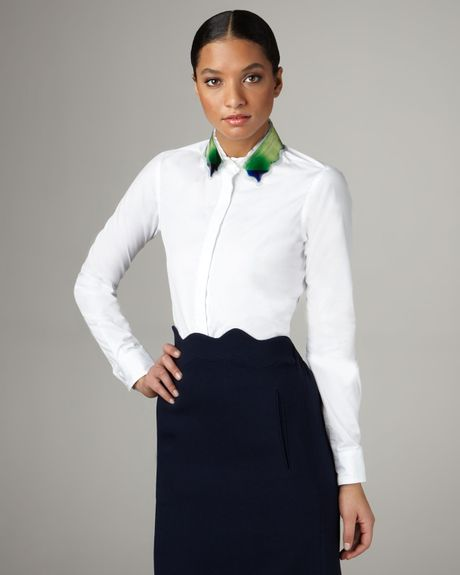 Womens Tailored Blouses 30
