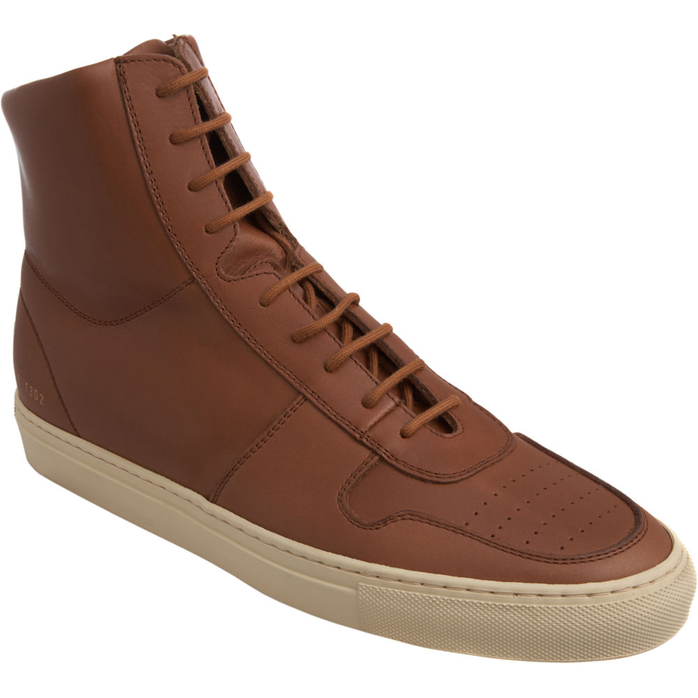 9af5579487d7 Common Projects Vintage Basketball Sneaker in Brown for Men - Lyst