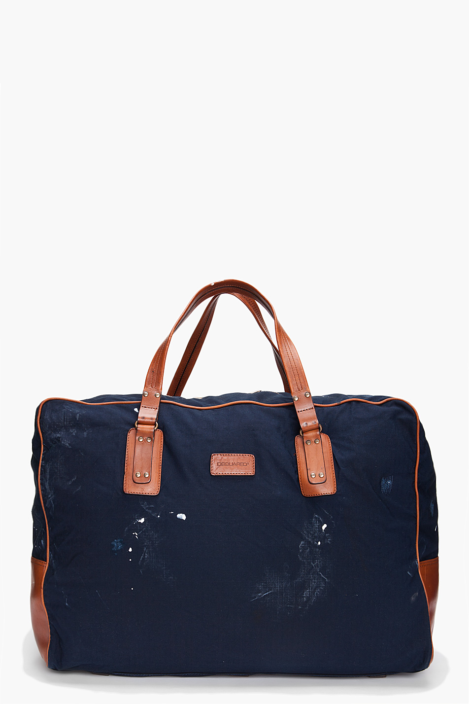 Lyst Dsquared 178 Canvas Duffle Bag In Blue For Men