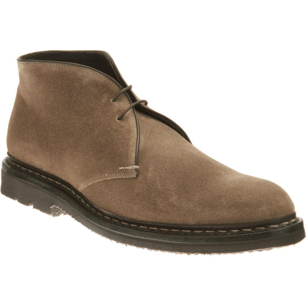 Lyst Heschung Chukka Boot In Brown For Men