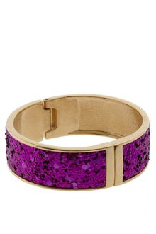 ASOS Collection Asos Glitter Cuff Bracelet - Lyst