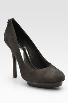 Tory Burch Mandy Suede High-heel Pumps - Lyst