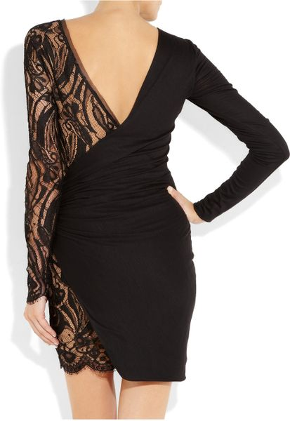 Emilio Pucci Black Dress With Lace Black Emilio Pucci