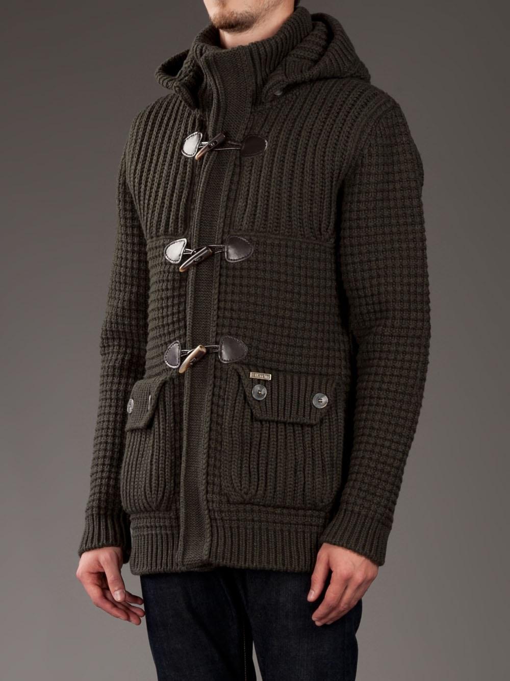 Bark Duffle Coat   Down Coat