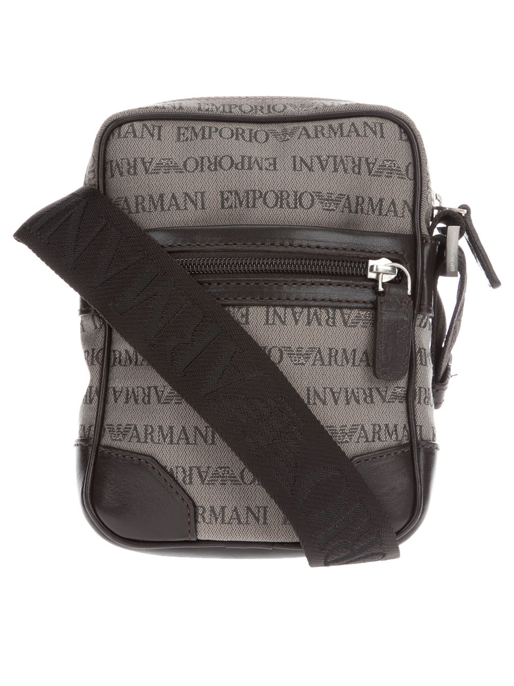 0c71db663256 Emporio Armani Messenger Bag in Black for Men - Lyst