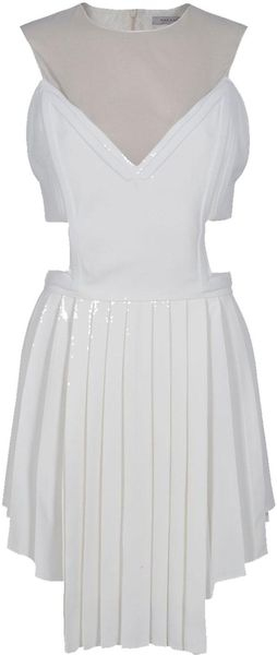 Hakaan Backless Pleat Skirt Dress - Lyst