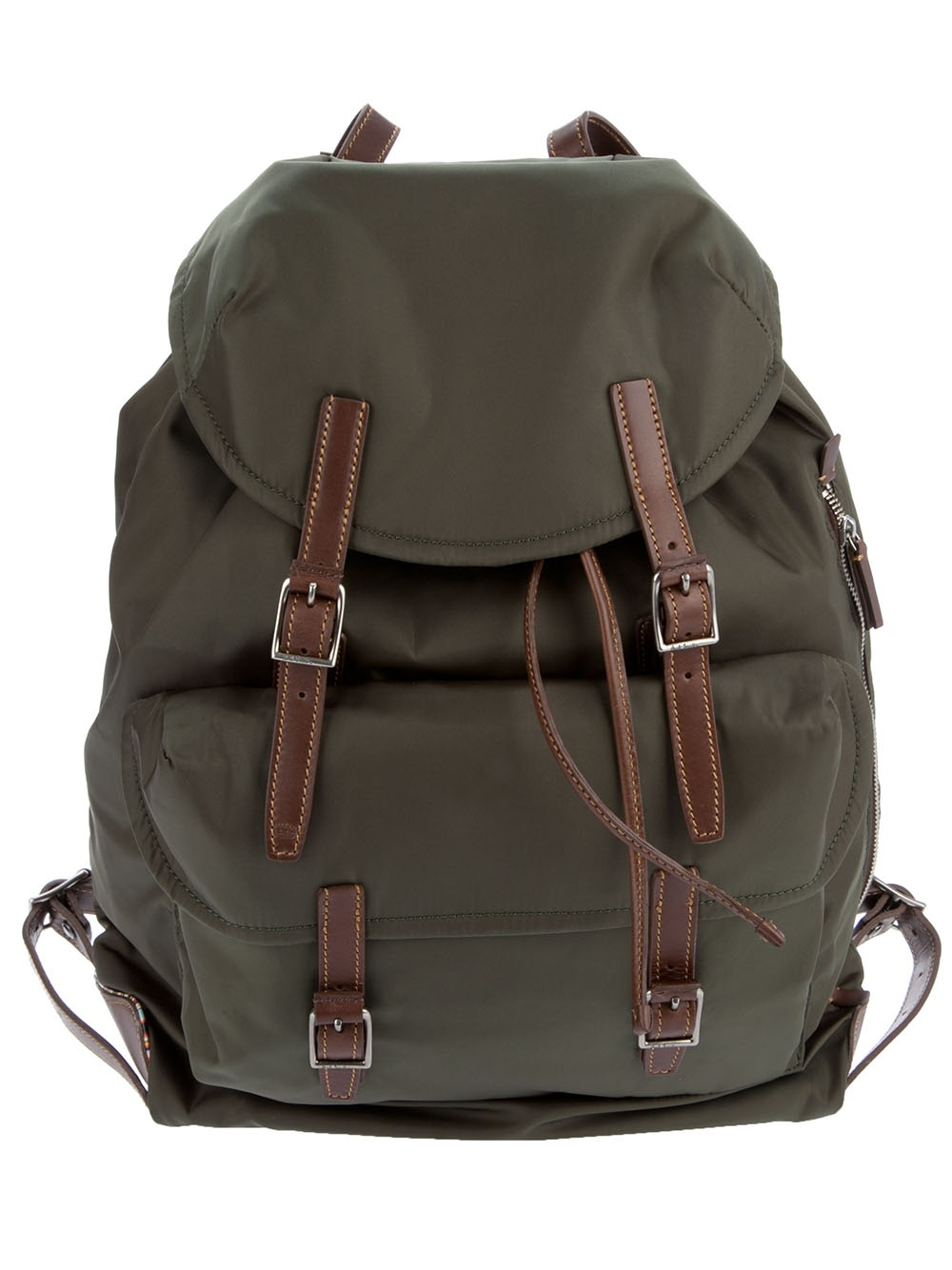Paul Smith Rucksack in Green for Men - Lyst d6eec17ac