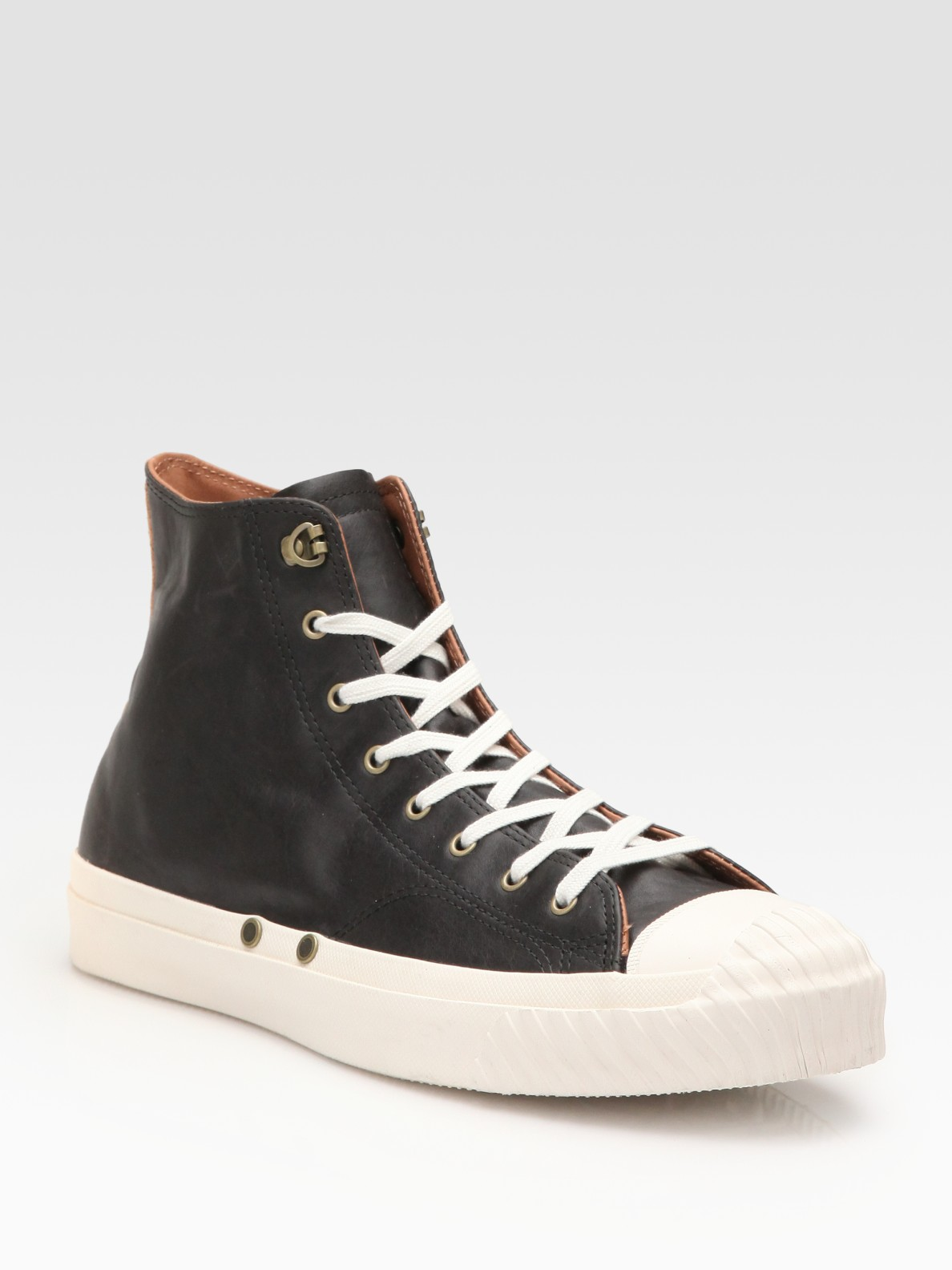 Converse Chuck Taylor Bosey High Tops In Black For Men Lyst