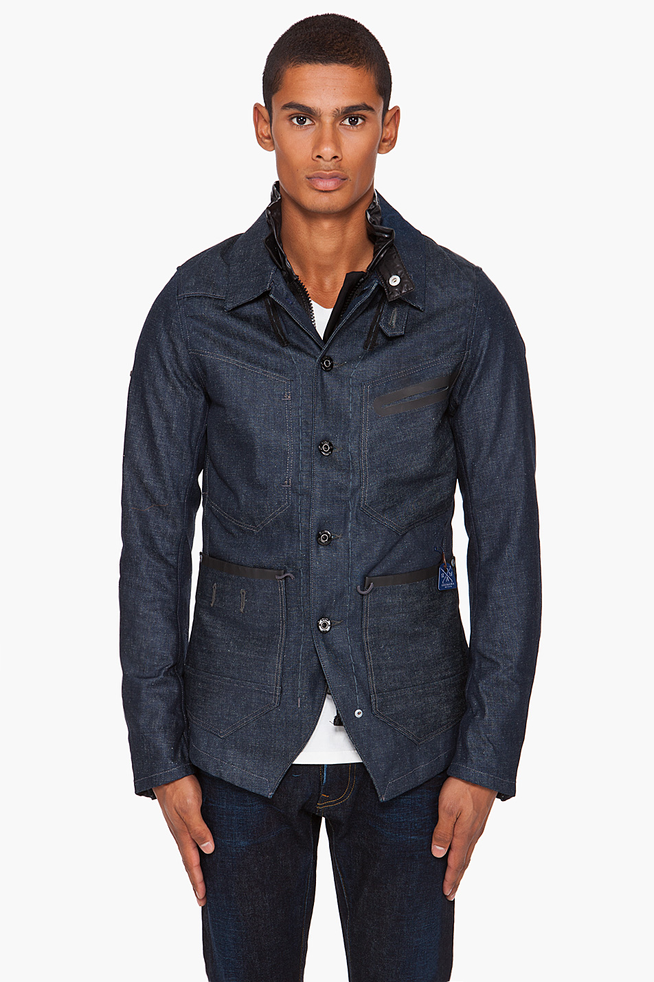 Lyst G Star Raw Re Worker Jacket In Blue For Men