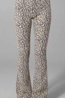 Opening Ceremony Flare Diamond Jacquard Pants - Lyst