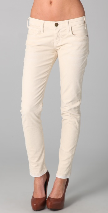 Current/elliott The Roller Corduroy Pants in Natural | Lyst