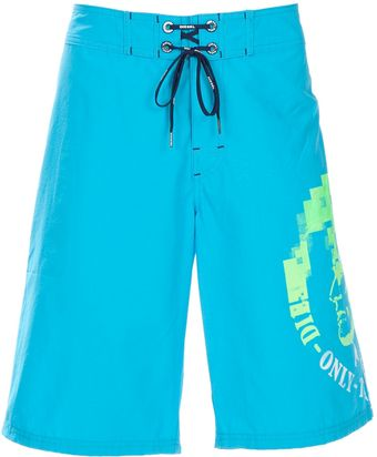 Diesel Swimming Trunks - Lyst