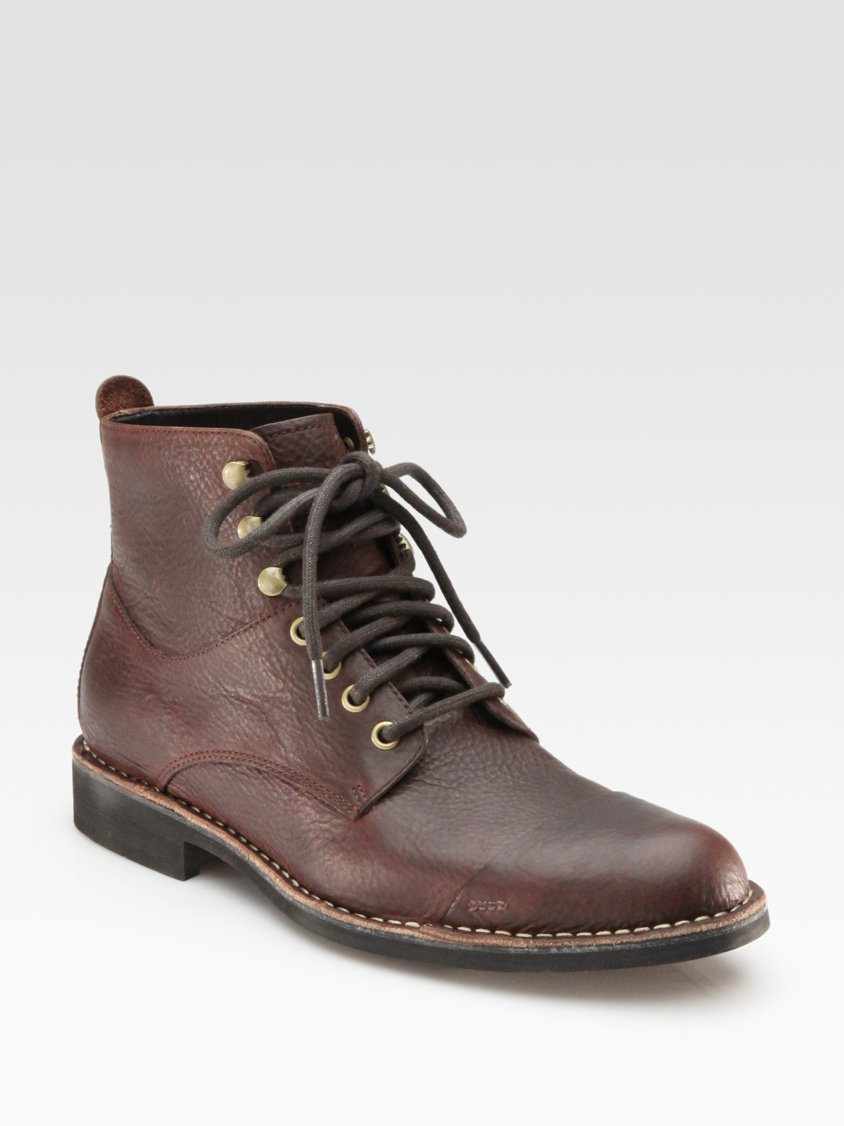 cole haan air blythe ankle boots in brown for lyst