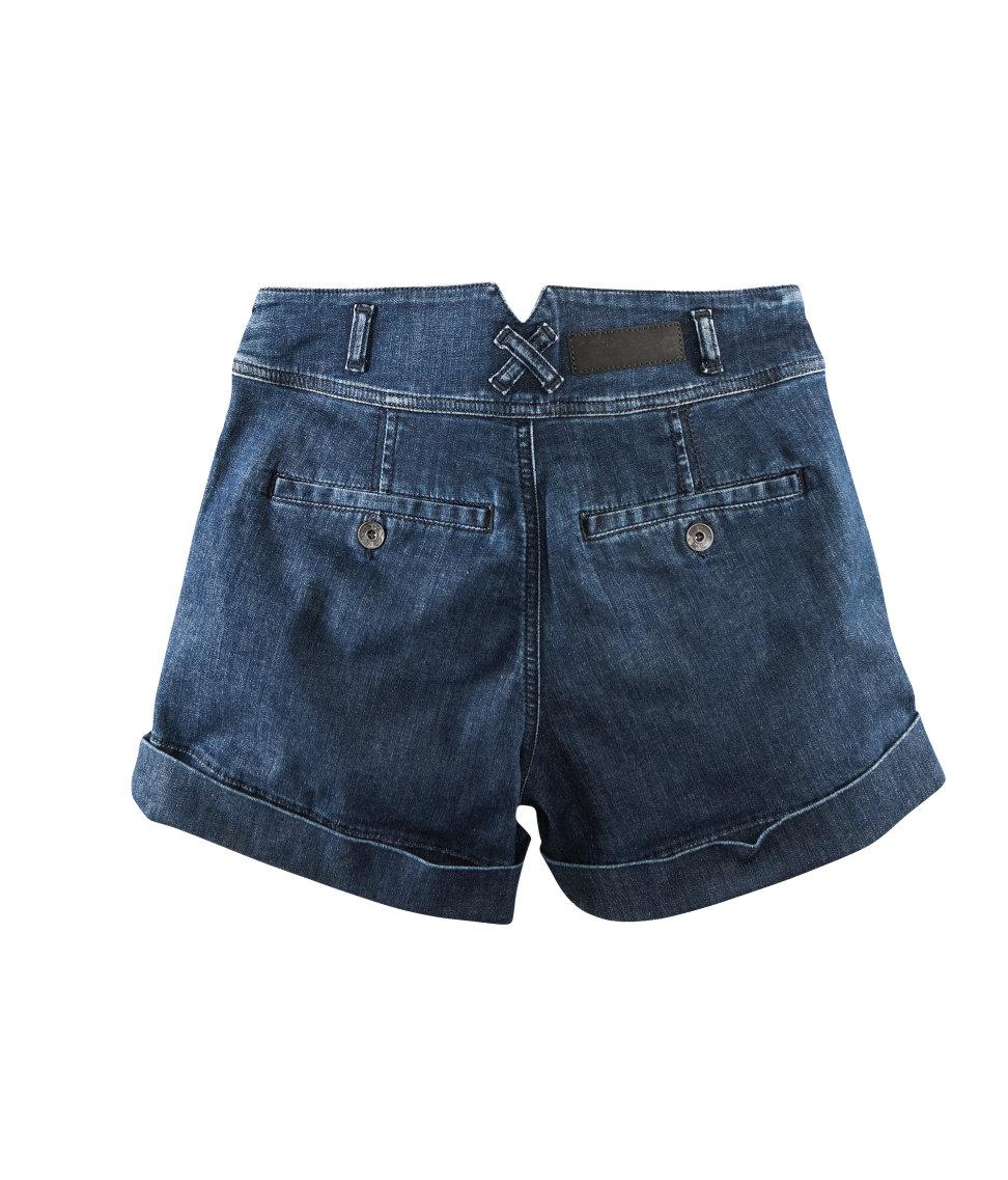 Lyst - Hu0026m Denim Shorts in Blue