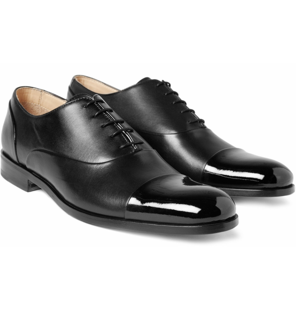 Dress Shoe Toe Caps