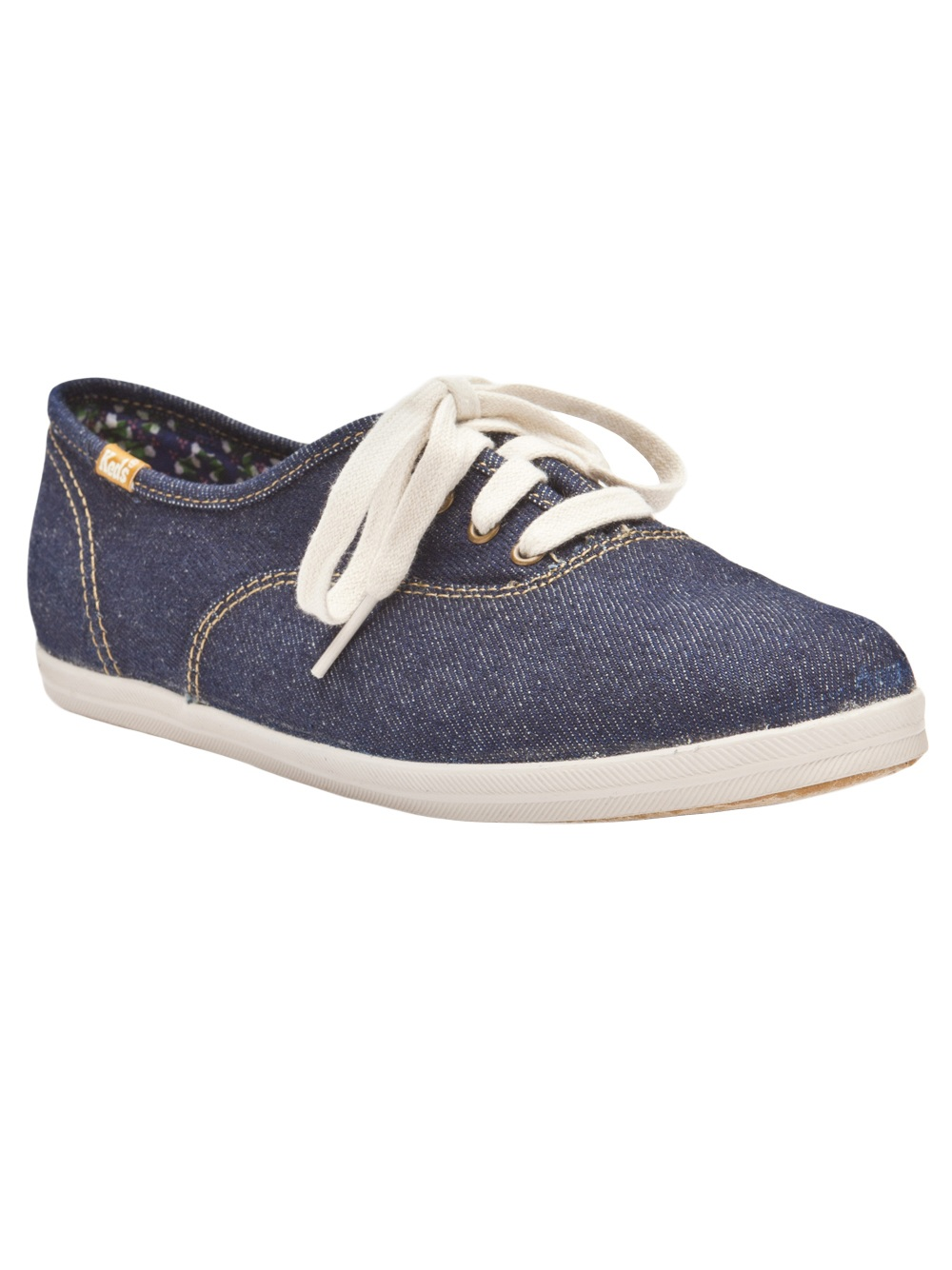 Keds Denim Shoe in Blue (denim) | Lyst