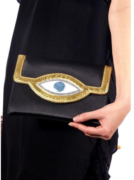 Mojo Evil Eye Bag in Blue | Lyst