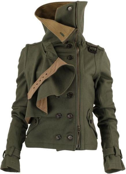 Nicholas K O-222b Eagan Jacket in Khaki (elm)