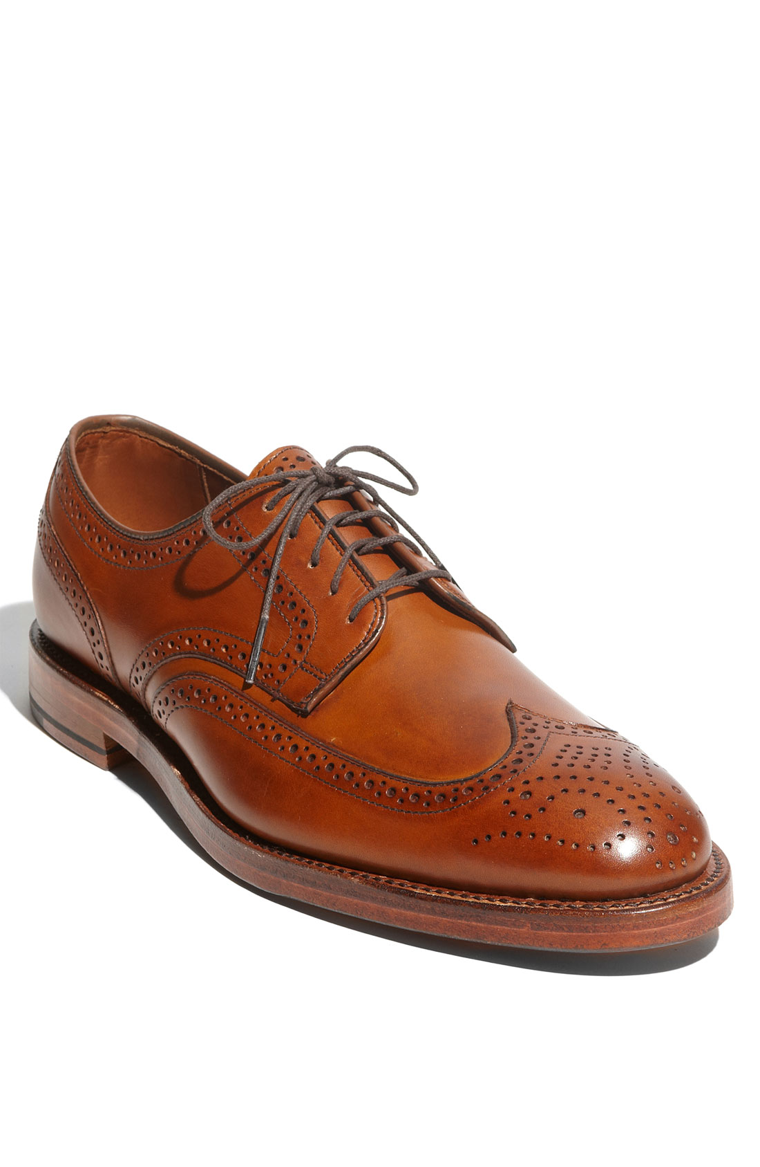 Jefferson - Wingtip Lace-up Oxford Men's Dress Shoes by Allen Edmonds. From the Independence Collection. Leather Sole. Eligible for Recrafting. Handcrafted in the .