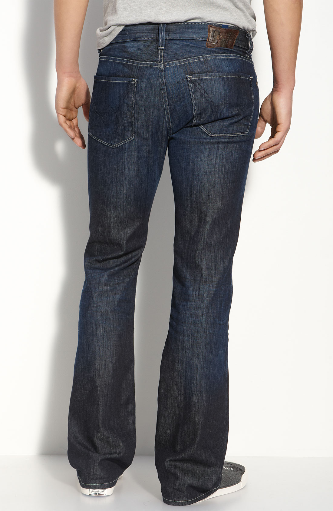 citizens of humanity bootcut jeans in blue for men focus. Black Bedroom Furniture Sets. Home Design Ideas