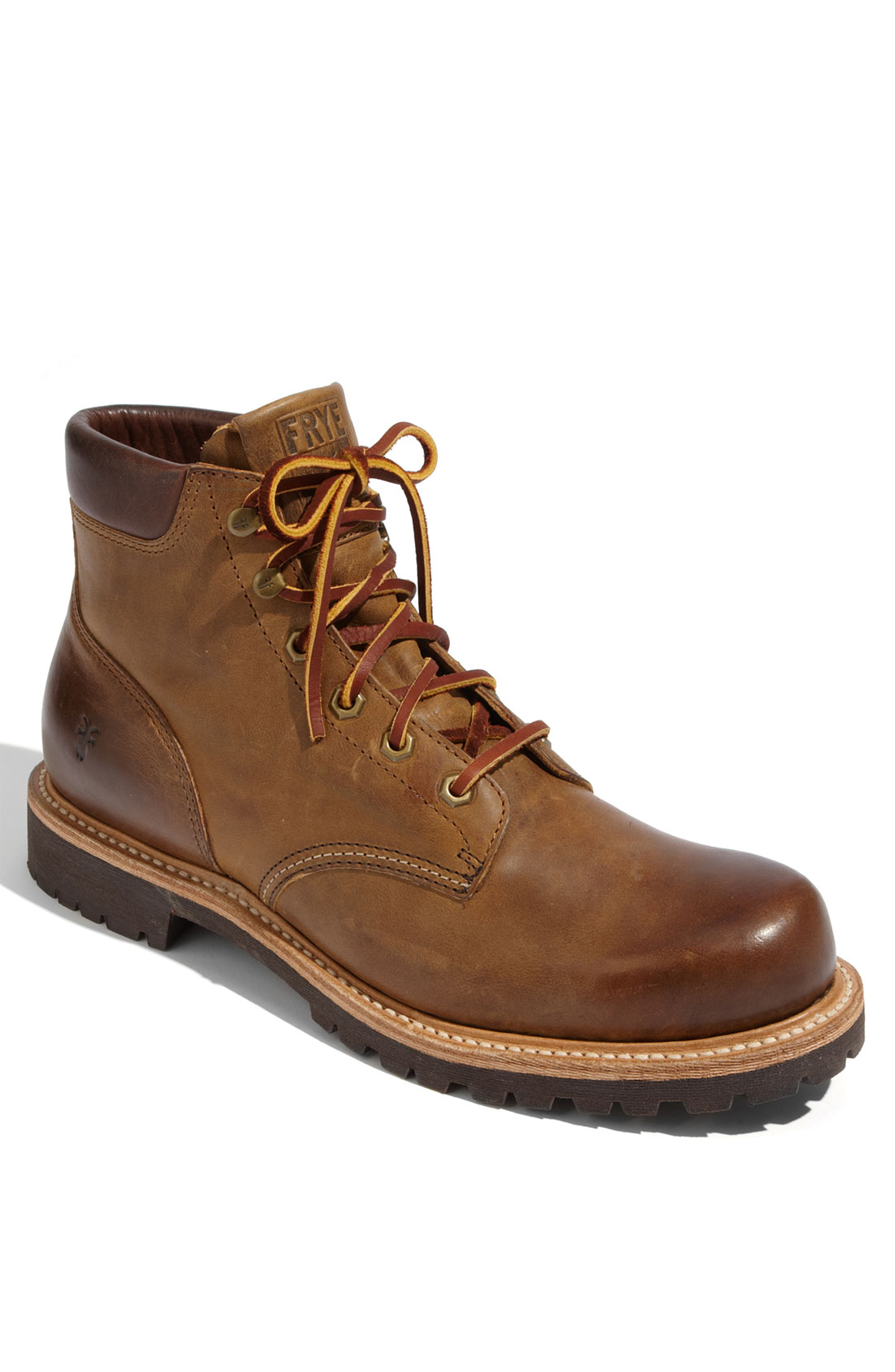 frye dakota plain toe boot in brown for lyst
