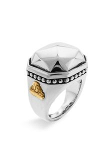 Lagos Rocks Medium Sterling Silver Ring - Lyst