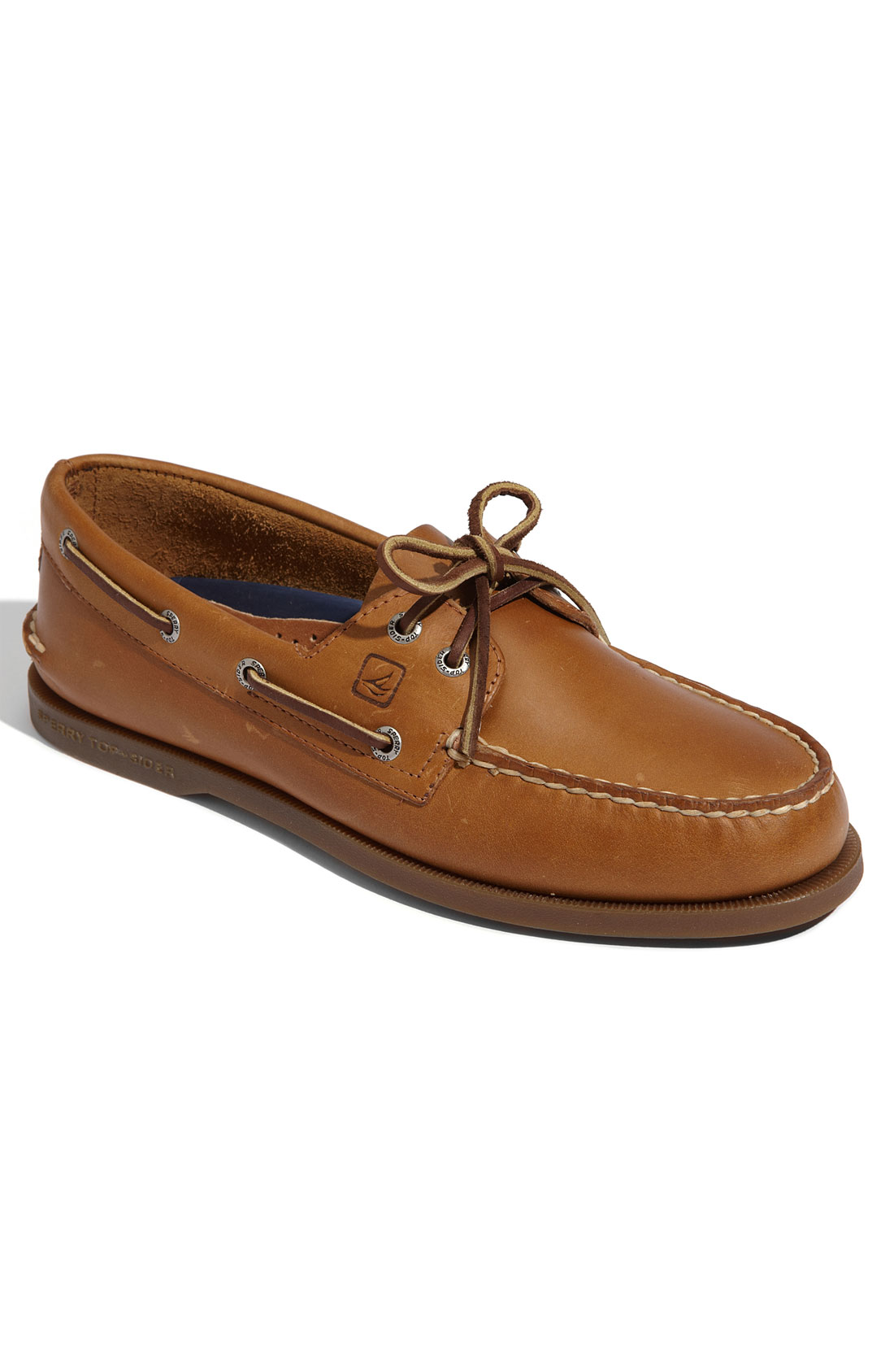 Sperry topsider Authentic Original Boat Shoe in Brown for Men sahara