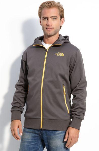The North Face Urban Ninja Zip Front Hoodie in Gray for Men (graphite