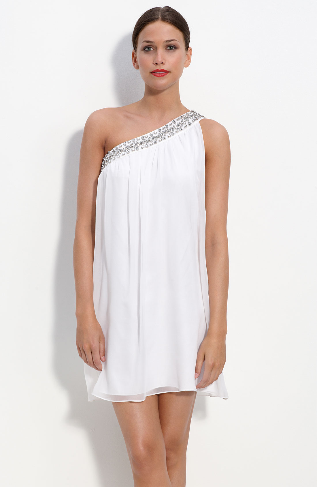 Find one shoulder chiffon dress at ShopStyle. Shop the latest collection of one shoulder chiffon dress from the most popular stores - all in one.