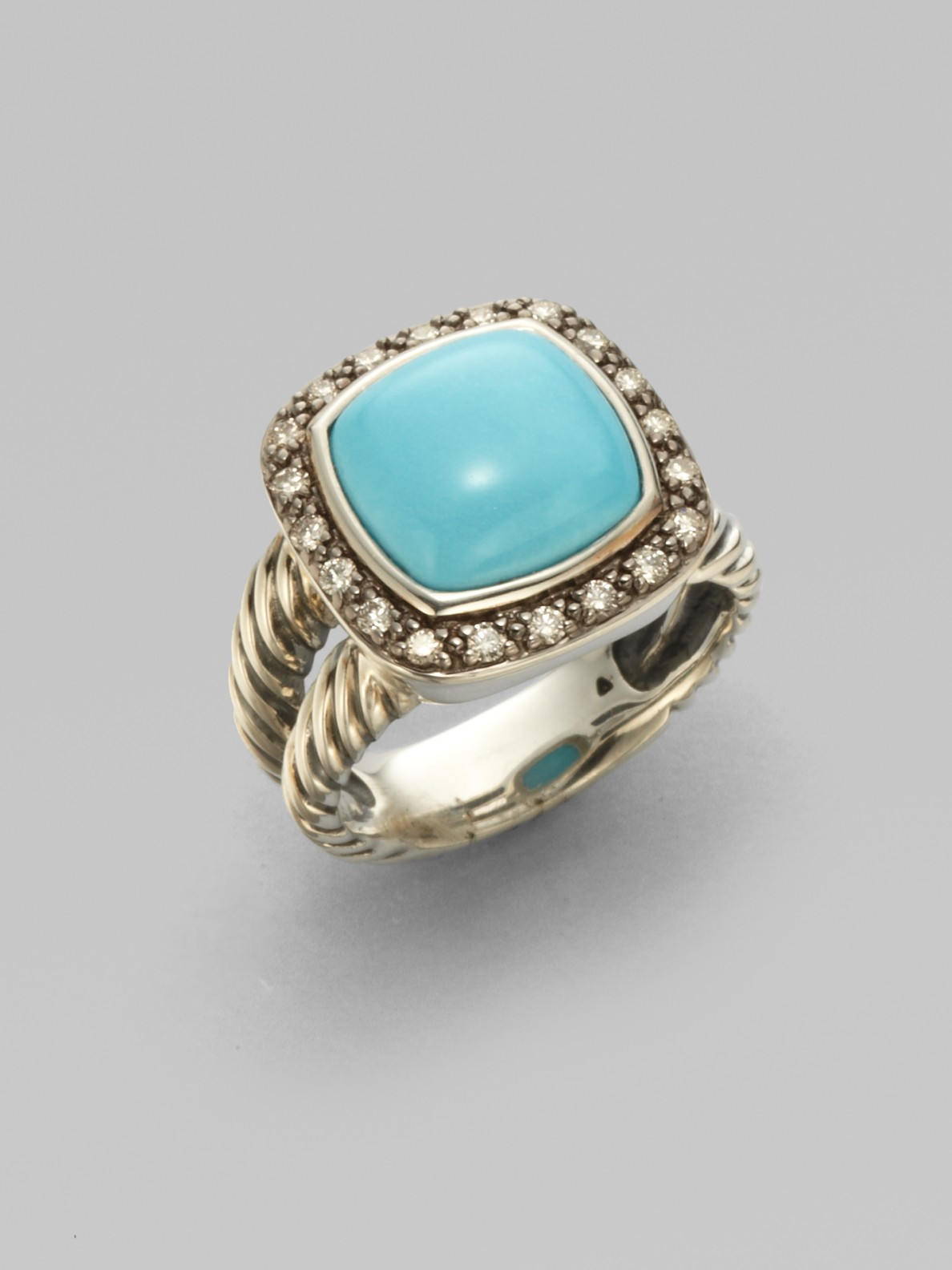 david yurman turquoise blackened sterling silver