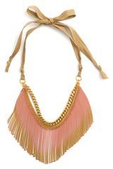 Juicy Couture Wanderlust Gradient Fringe Necklace
