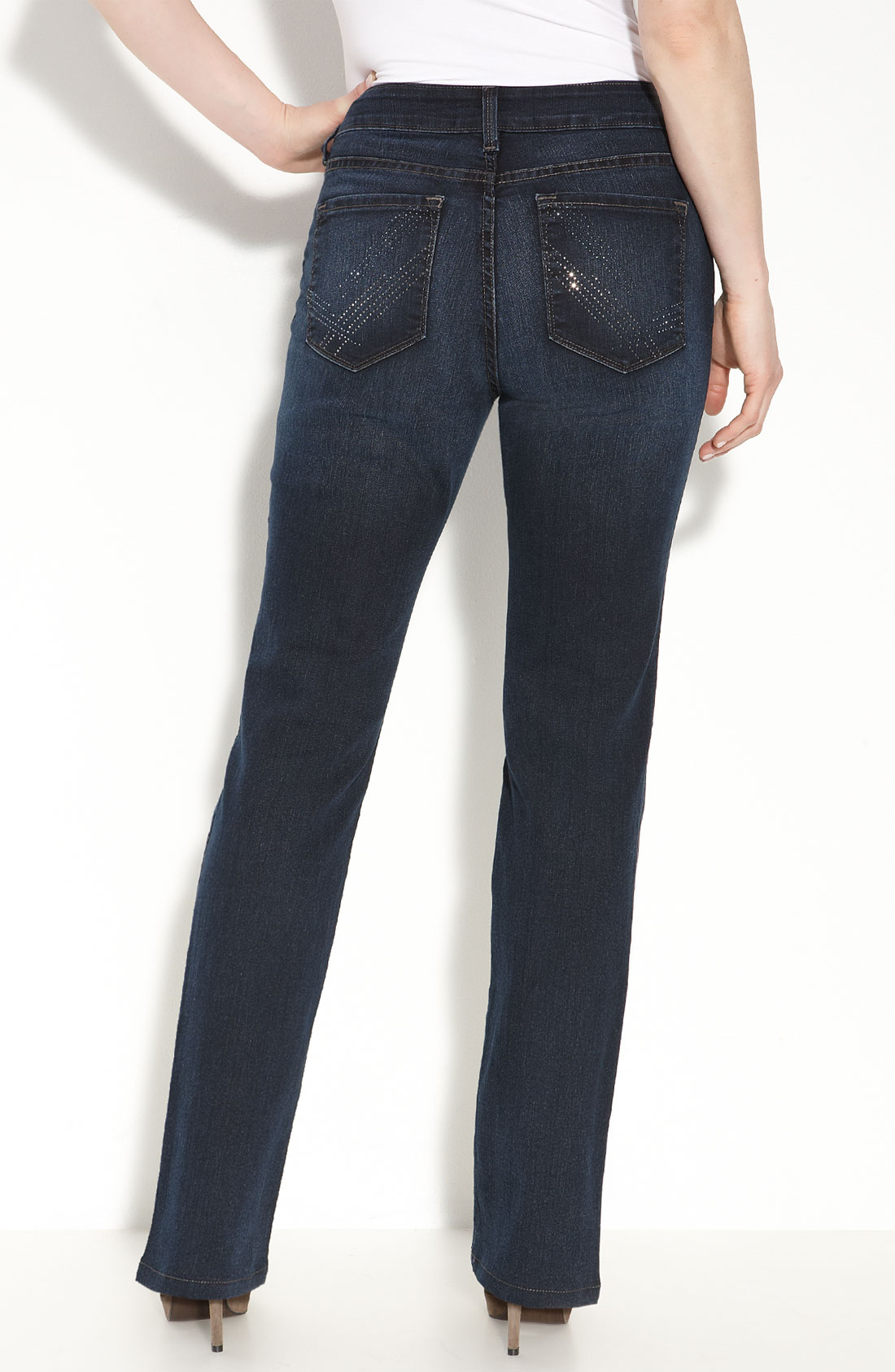 not your daughter 39 s jeans marilyn straight leg jeans. Black Bedroom Furniture Sets. Home Design Ideas
