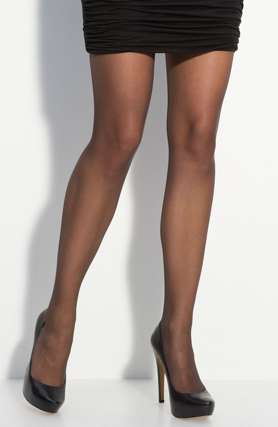 Wolford Individual 10 Pantyhose In Black Lyst
