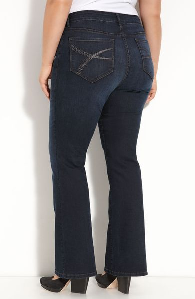 not your daughter 39 s jeans barbara bootcut stretch jeans. Black Bedroom Furniture Sets. Home Design Ideas