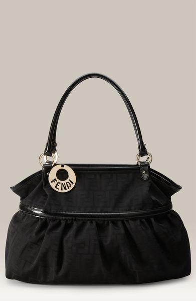 Fendi Chef Zucca - Giant Tote in Black