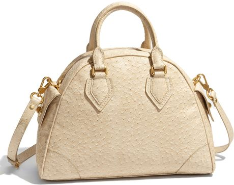 Marc By Marc Jacobs Ozzie - Baby Aidan Faux Leather Tote in Beige (faded khaki)