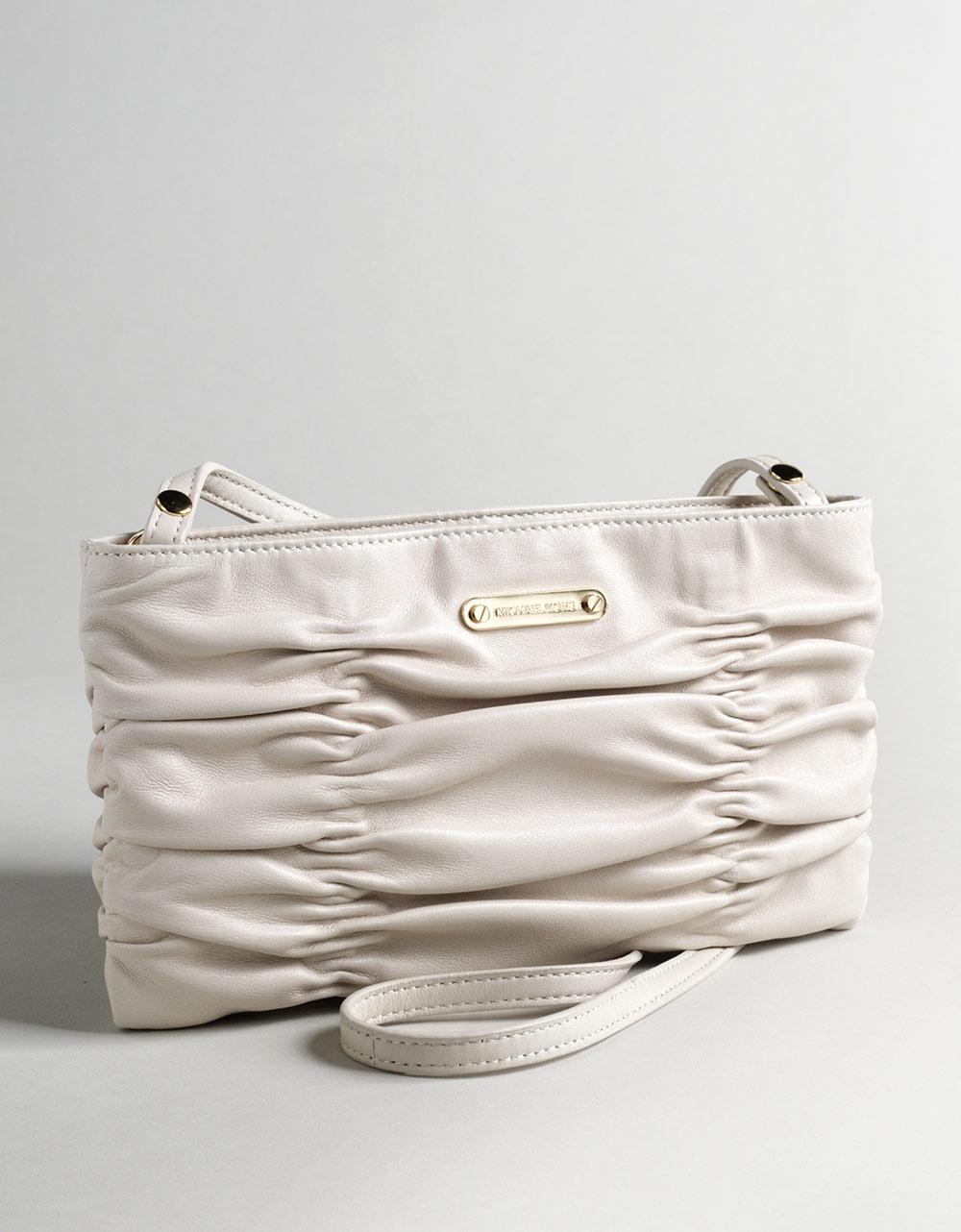 d123414b38e6 Lyst - MICHAEL Michael Kors Webster Wallet Clutch Purse in White