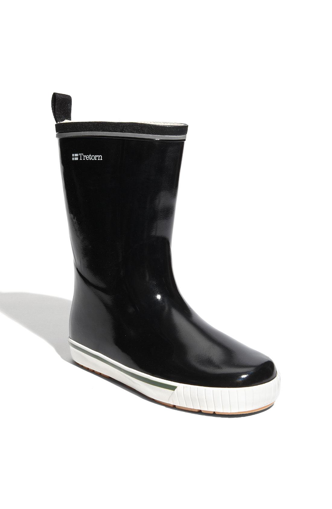 Unique Tretorn Kelly Rain Boot In Black | Lyst