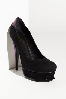 Yves Saint Laurent Tribute Platform Pump - Lyst