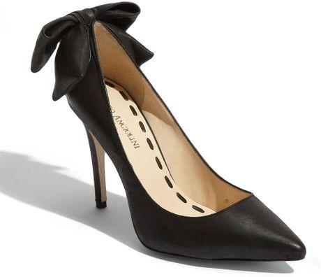 Enzo Angiolini Martini Pump in Black (black leather