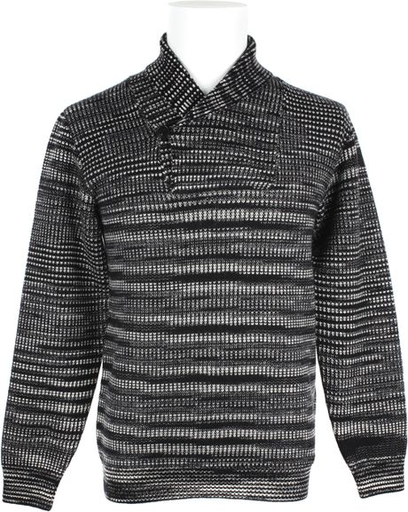 Missoni Cashmere Knitted Stripes Pattern Long Sleeves Sweater in Beige for Me...