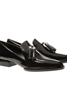 Alexander Wang Georgie Leather Loafers with Tassels - Lyst